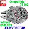 IN Stock LEPIN 05036 1685Pcs Star Wars TIE Fighter Model Building Kits Darth Vader Minifigure Blocks