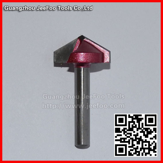6 * 22 * ​​120 gradi Fraise 3D (carving V bit) rainurage, chanfreinage