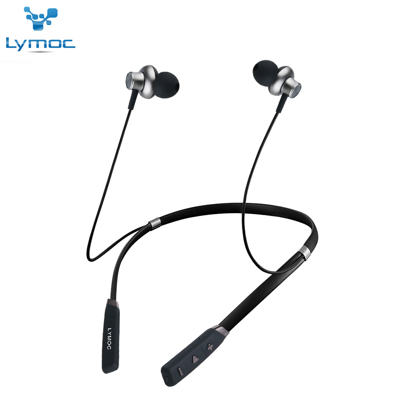 LYMOC Earphone Neckband HIFI Stereo Wireless Bluetooth Earphone CSR4.1 Music Sport Phone Headphone Handsfree for iPhone Android hbs 760 bluetooth 4 0 headset headphone wireless stereo hifi handsfree neckband sweatproof sport earphone earbuds for call music