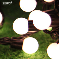 ZINUO Waterproof Christmas Lights Outdoor Garden Decoration 10M 72 LED Holiday Outdoor Lighting White Warm White