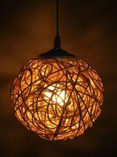FERR ДОСТАВКА Подвесные Светильники светильники Ручной Работы трикотажные лампа небольшой кулон свет лампы