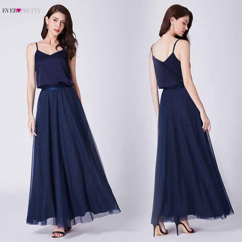 838b24fb5d8 Простые темно-синие платья на выпускной Ever Pretty AS07363 A-Line без  рукавов v