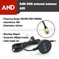 5dbi Antena GSM, 850 MHz 900 MHz 1800 MHz 1900 MHz antena, SMA Plug recto con la base Magnética