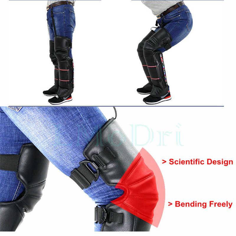 LMoDri Winter Roller Motorrad Reiter Halten Warme Kneepad Winddicht Erwärmung Knie Pads Beine Schutz Verdickung Kalt-Beweis