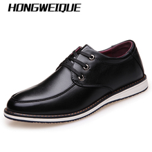 Commercial autumn casual fashion shoes flat lacing low shoes flat heel shoes boys leather