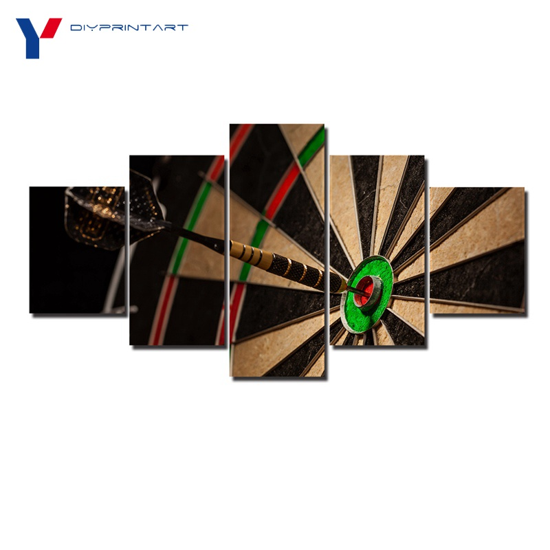 Darts Target 5 Pcs/set Art Painting Home Decoration Sport Toy Paintings for Livingroom A0315 ...