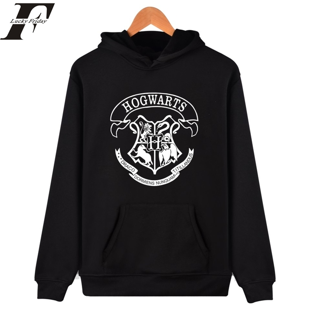 0624bfd999c35 2017 Hogwarts men Women Hoodies And Sweatshirt brand Clothing HOGWARTS  tracksuit Streetwear Hogwart Deathly Hallows survetement