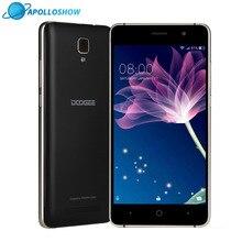DOOGEE X10 mobile téléphones 5.0 Pouces IPS 8 GB Android6.0 téléphone intelligent Dual SIM MTK6570 1.3 GHz 5.0MP 3360 mAH WCDMA GSM téléphone portable
