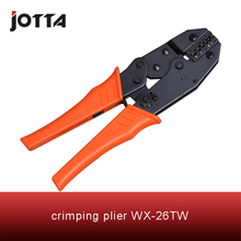 WX-26TW crimping tool plier 2 multi tools hands Ratchet Crimping Plier (European Style)