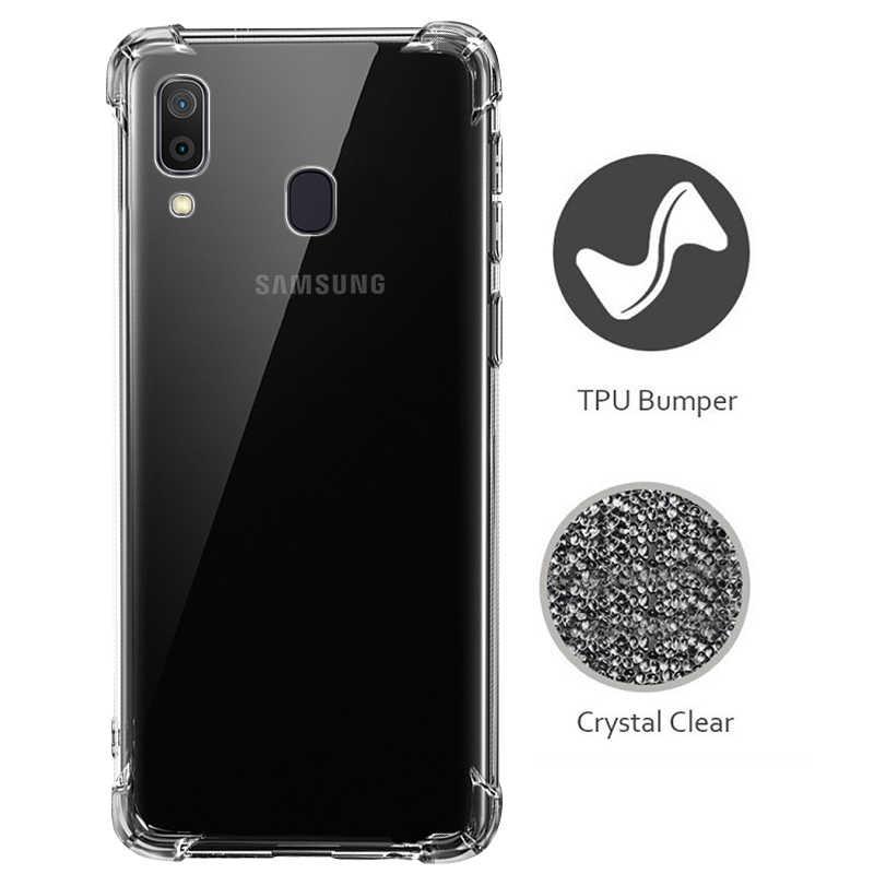 Anti-knock Case For Samsung Galaxy A70 A50 A40 A30 A20 A10 A2 Core A20e M30 M20 M10 Protective Case For Samsung Galaxy S10 Plus