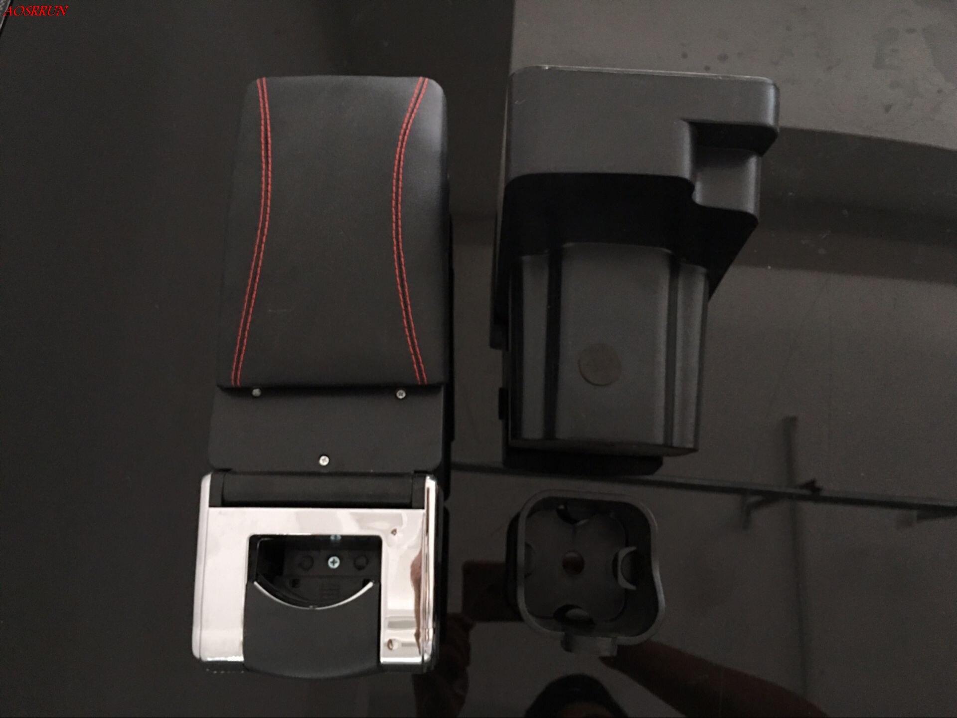 Auto armlehne zentrale Speicher inhalt aufbewahrungsbox mit getränkehalter aschenbecher zubehör für Nissan juke 2012-2015