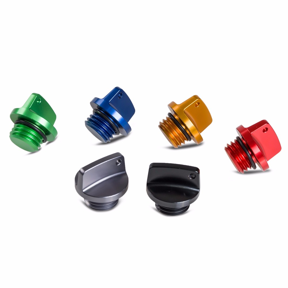 M20*2.5 Oil Filler Cap Plug For Yamaha YZ 65 80 125/X 250/X YZ250F YZ450F YZ250FX YZ450FX WR250F WR450F WR250R/X YZF WRF 250 450(China)