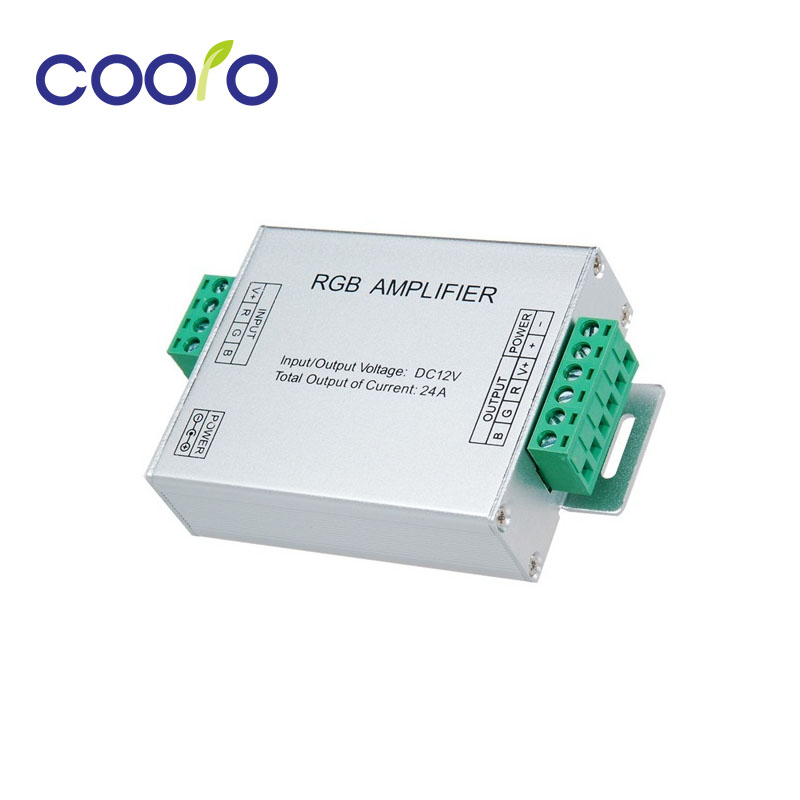 DC12/ 24V 24A Led RGB Strip Amplifier 6A X 3 Channel
