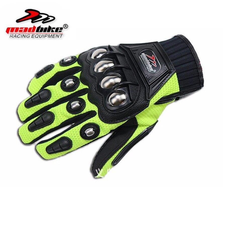 Motorcycle gloves nepal - Alloy Steel Bicycle Motorcycle Motorbike Powersports Racing Gloves Black M L Xl Xxl Motorcycle Gloves Men Gants