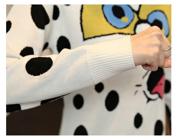 в 2015 году новая осень и зима платье губка боб вязание женщины одеваются свитер платье бесплатная доставка