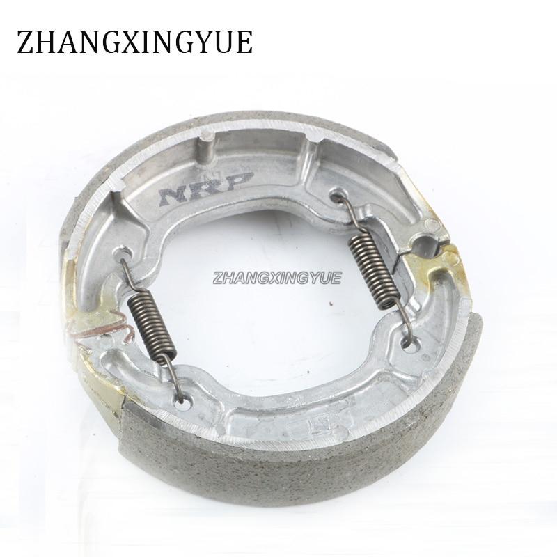 Brake Shoe Kit for Yamaha TW200 XT350 XN125 YN100 YP125E XV125 XV250 XT350 TT600 3LS-W2536-00 brake shoe