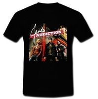 Tailored Shirts Top O Neck Short Sleeve Mens Jane Addiction End To The Lies T Shirt