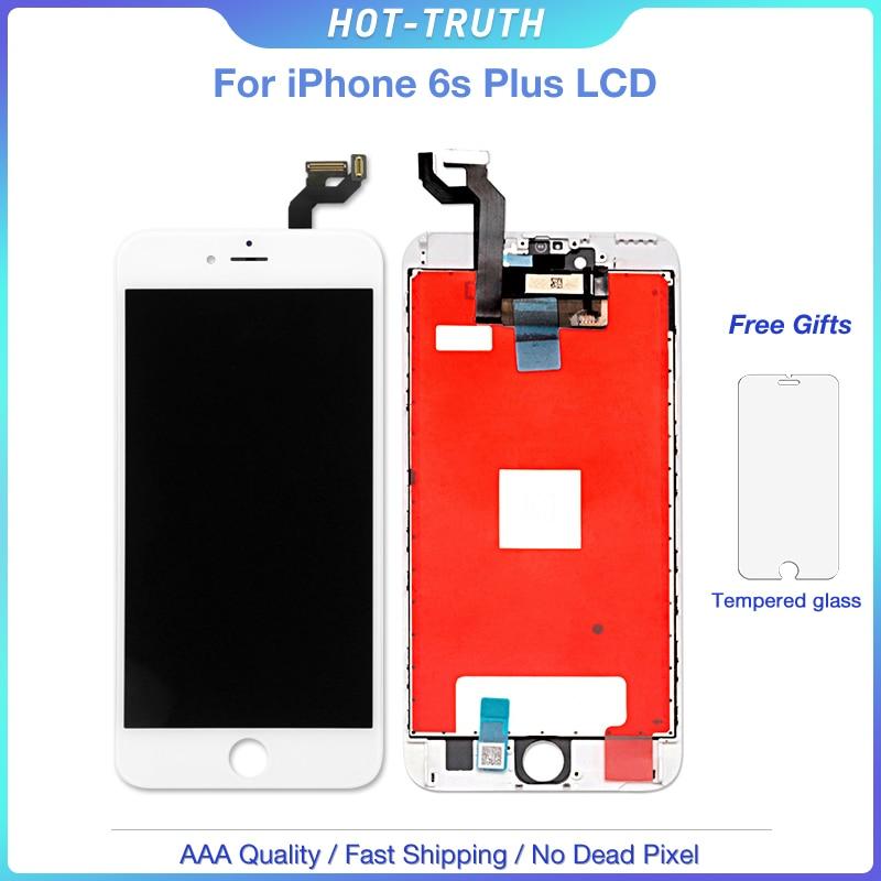 20 pçs/lote Grade AAA +++ 6 S Além de Tela Para iPhone Tela de Toque Digitador Assembléia Display LCD OEM 5.5 Polegada com 3D Toque + Gift