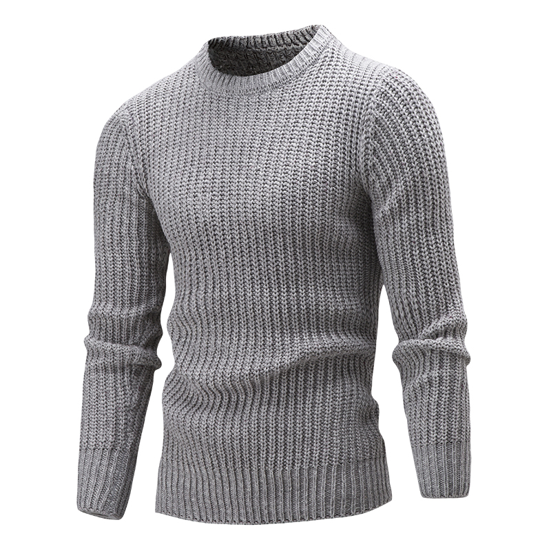 Sweater Men 2020 New Winter Brand Warm Fashion Men's Pullover Sweaters Casual Slim Fit Comfortable Knitwear Pull Homme