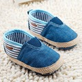 New Cute Soft Cotton Solid Blue&Red Infant Anti-slip New Born Baby Shoes Boys first Walkers Casual For Baby Girl shoes