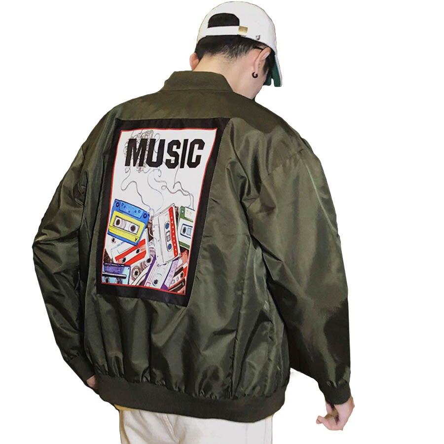 Hommes vestes printemps automne Hip Hop volant Patchwork Bomber veste hommes Streetwear pilote Erkek Mont vêtements Baseball uniforme mâle 5