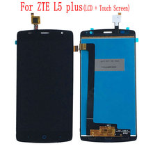 цена на For ZTE Blade L5 plus LCD Display Touch Screen Digitizer Assembly Assembly Repair Part For Blade L5 Plus Free Shipping+Tools