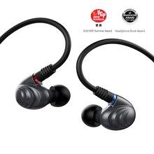 FiiO funda de Metal knozles F9Pro, auriculares HIFI híbridos con Triple controlador, 3,5mm/2,5 m, con micrófono y mando a distancia para teléfono móvil MP3