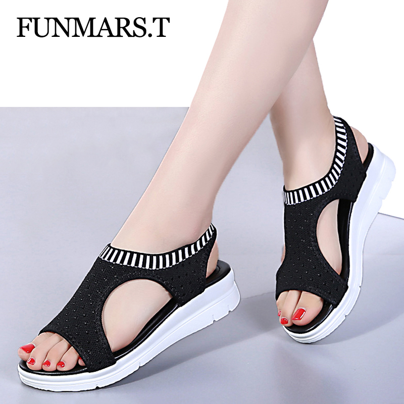 Women Sandals For 2019 Breathable Comfort Shopping Ladies