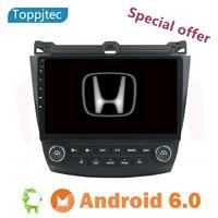 2003 Автомобильный Радио dvd плеер gps Навигация стерео для 2007 10,1 Honda Accord 7 Dual AC Поддержка Bluetooth USB карта