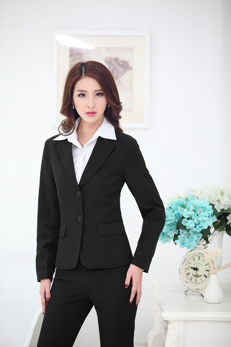 Элегантный черный весенний осенний деловой Для женщин куртки пальто пиджаки Топы Blaser для женские Офисные блейзеры, униформы Пиджаки Плюс Размеры