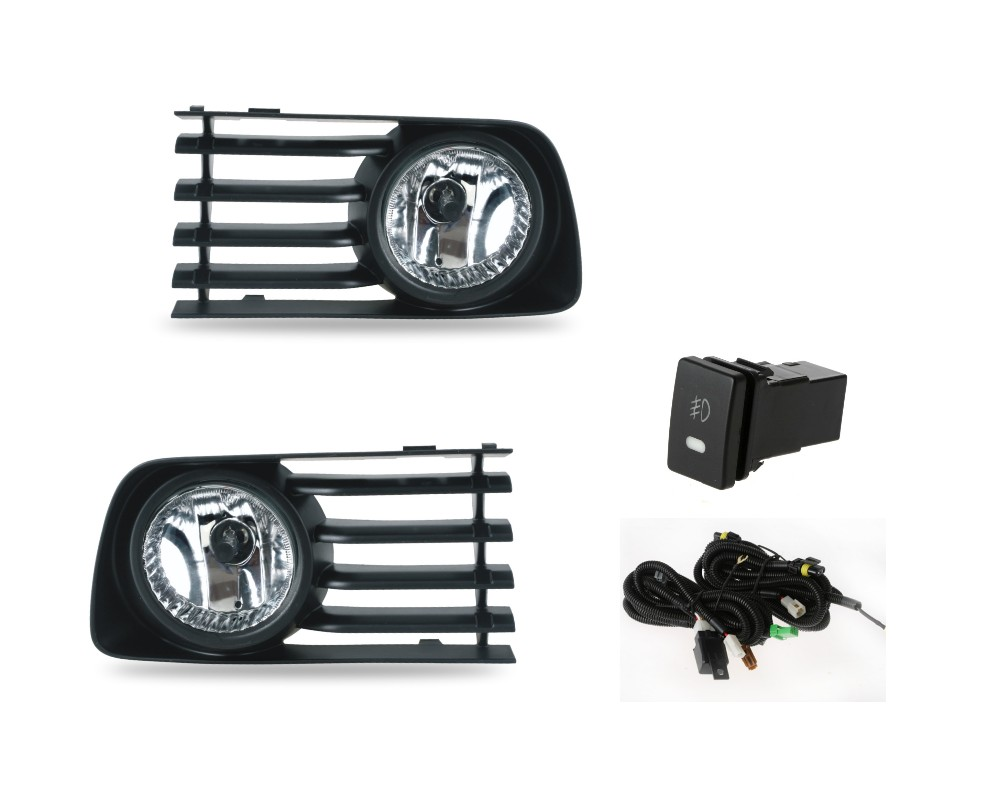 Case for Toyota Prius 2006 2009 fog light car light assembly Front Driving Lamps with Wiring