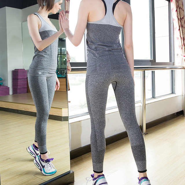 High Waisted Stretching Yoga Leggings