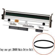 (Compra un cinturón de transmisión principal)  Cabezal de impresión para zebra ZM400 200 ppp impresora de código de barras térmico cabezal de impresión PN 79800M Compatible
