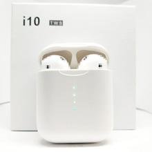 I10 TWS Bluetooth 5,0 наушники i9s TWS беспроводные наушники Поддержка сенсорного управления беспроводной зарядки бинауральные звонки PK i20 i30 i80