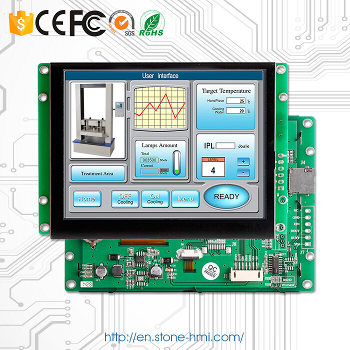 5 0 LCD Controller Board TFT Display Panel Sscreen Monitor Replacement Of HMI System in LCD Modules from Electronic Components Supplies