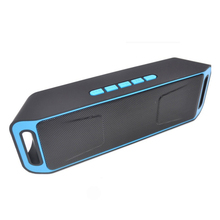SC208 Wireless Bluetooth Speaker Subwoofer Usb Speakers Mp3 Player Portable Speaker Tweeter Hoparlor Speaker Support Aux TF FM wireless bluetooth speaker sc208 computer mini dual speaker portable small stereo car subwoofer support tf card usb disk