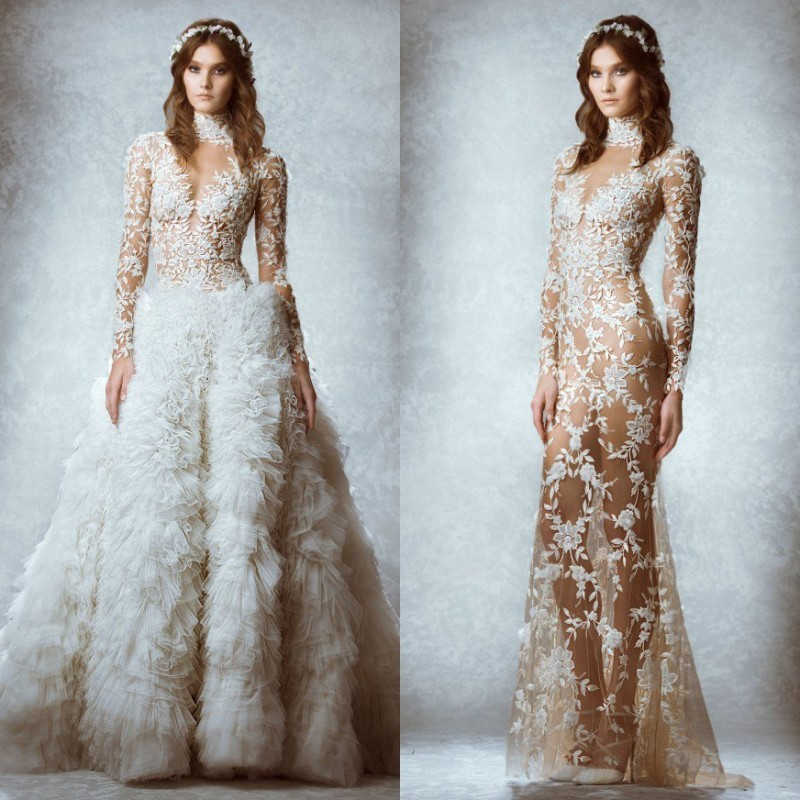 Aliexpress.com : Buy Designer Romantic Zuhair Murad Wedding ...