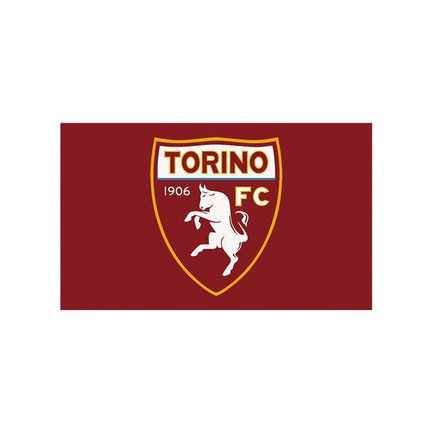 Italy Torino Football Size 3ft 5ft 90 150cm Flag Sports Team Flags Banner Custom