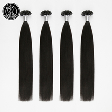 "Fairy Remy Hair 0.8g/s 16"" 18"" 20"" Remy Nail U Tip Human Hair Extension Natural Black 1B Color Straight Brazilian Prebonded Hair"