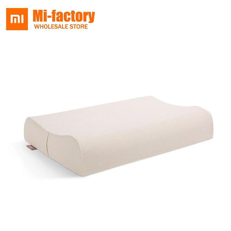 Новые Xiaomi 8 H Подушка Z2 натуральный латекс эластичный мягкая подушка для шеи подушки защиты лучших экологически безопасный материал хорошег...