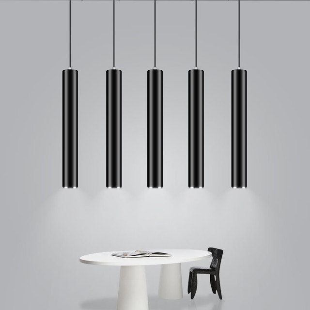 Modern black white dia 6cm cylinder led pendant light kitchen island modern black white dia 6cm cylinder led pendant light kitchen island dining room shop bar counter mozeypictures Image collections