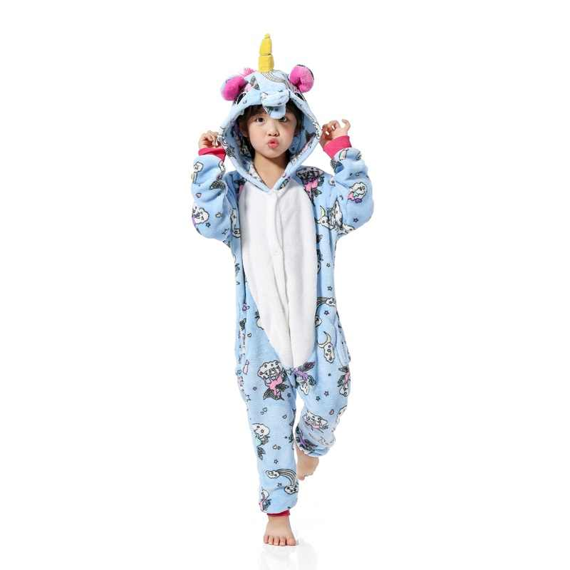 a83dc179f Detail Feedback Questions about Boys Girls Unicorn Pajamas Animal ...