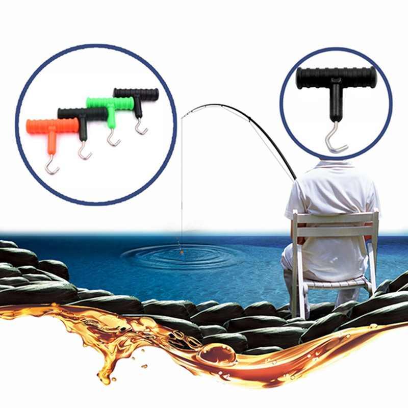 1 pcs דיג קשר חולץ נירוסטה דיג אסדת שיער ביצוע כלי קשר Rig חולץ Pesca קרפיון דיג אביזרים