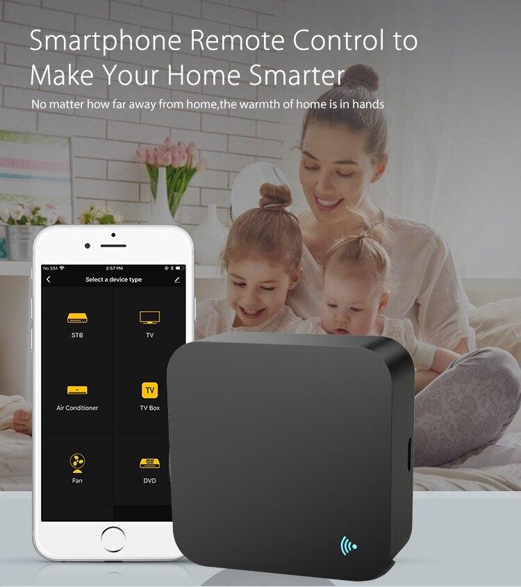 Image 5 - Tuya Smart life WIFI IR Remote Control Smart Home Automation  Wifi Remote  Alexa Google home Voice Universal Remote ControllerHome Automation Modules   -