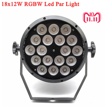 LED Par 18x12W RGBW Led Stage Light Par Light With DMX512 for disco DJ projector machine Party Decoration SHEHDS Stage Lighting free shipping 2016 rechargeable 2 4g ism wireless dmx512 xlr receiver unit led lighting for stage par party light