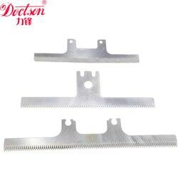 Piła tarczowa ostrza  ząb prosty ostrza specjalne-ostrzy w kształcie litery  HSS maszyna do pakowania nóż  folia ochronna z PVC ostrze do cięcia