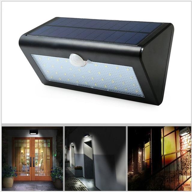 outdoor zonne energie bewegingssensor licht met 3 modi waterdichte solar verlichting voor veranda patio en