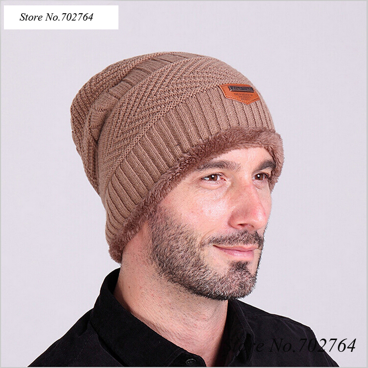2018 Brand Bonnet   Beanies   Knit Winter Hat Caps   Skullies   Winter Hats For Men Women Men's   Beanie   Outdoor Ski Sports Warm Baggy Cap