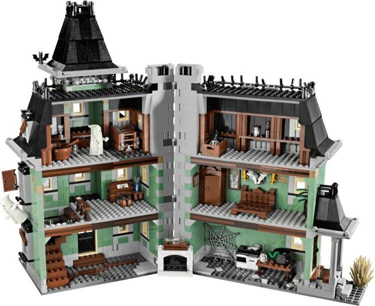 Nouveau LEPIN 16007 2141 pcs Monstre combattant La maison hantée Modèle Kits de Construction Modèle Compatible Avec 10228 legoed - 5