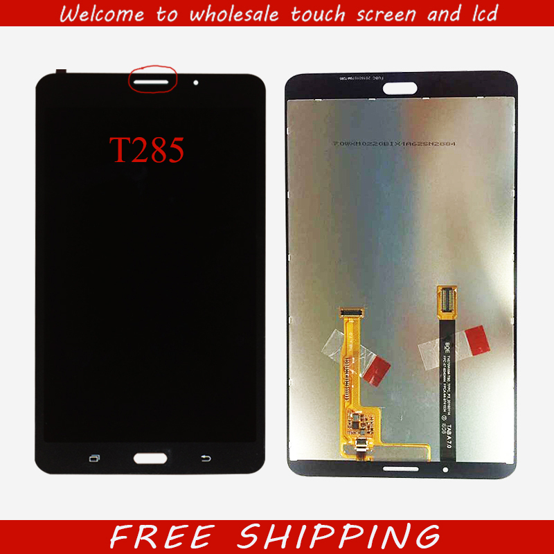 New for Samsung Galaxy Tab A 7.0 2016 SM-T280 SM-T285 T280 T285 LCD Display Touch Screen Digitizer Assembly Tablet PC Parts new for samsung galaxy tab a 7 0 2016 sm t280 sm t285 t280 t285 lcd display touch screen digitizer assembly tablet pc parts